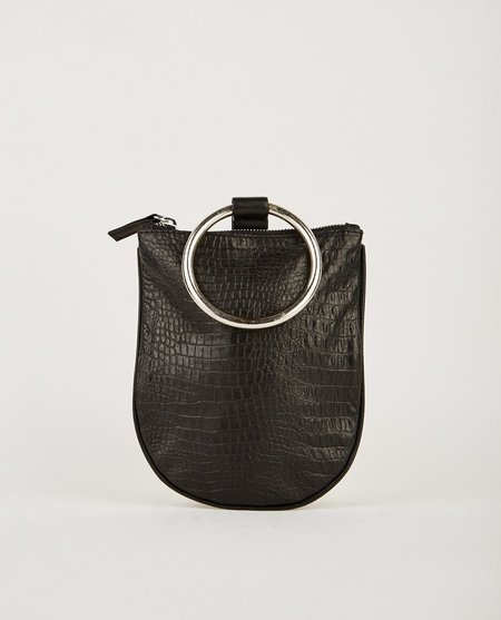 Otaat Myers Collective MEDIUM RING POUCH - BLACK CROC