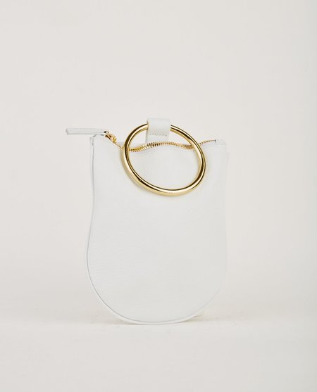 Otaat Myers Collective MEDIUM RING POUCH - WHITE