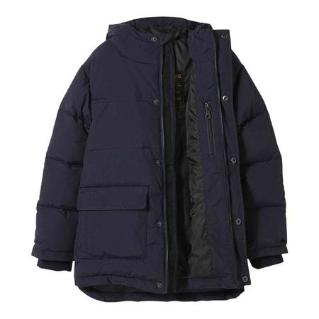 KIDS Finger In The Nose Child Snowtown Down Winter Jacket - Navy