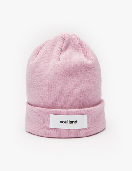 Soulland Villy Beanie - Pink