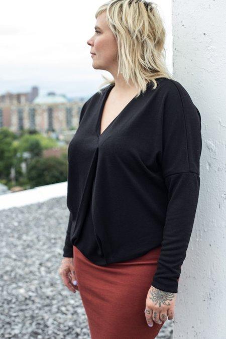 Valérie Dumaine Arman Top - Black