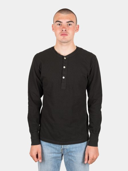 Homespun Coalminer Henley - Washed Black