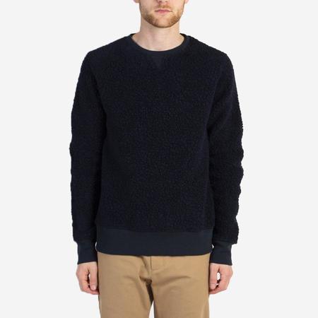 Kestin Hare Durness Borg Wool Sweatshirt - Navy
