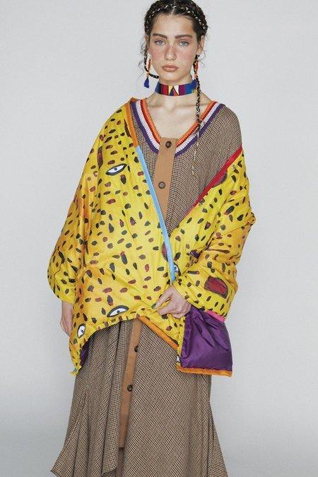 Tsumori Chisato Reversible Down Short Sleeved Jacket