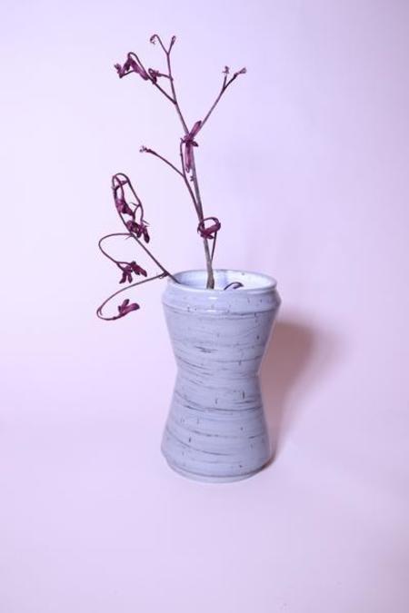 Shakeel Rehemtulla Gray Hourglass Vase - Gray
