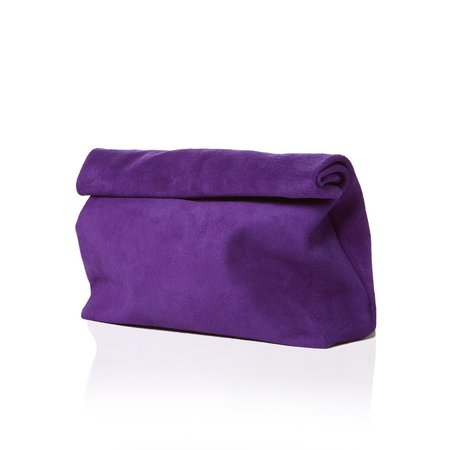 Marie Turnor The Lunch - Purple Suede