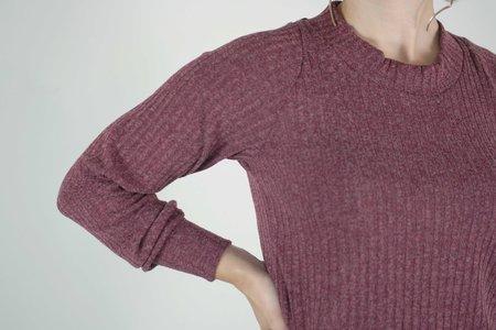 Allison Wonderland Rijk Sweater - Raspberry