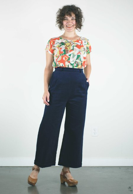 Jennifer Glasgow Siouxsie Pants - Navy