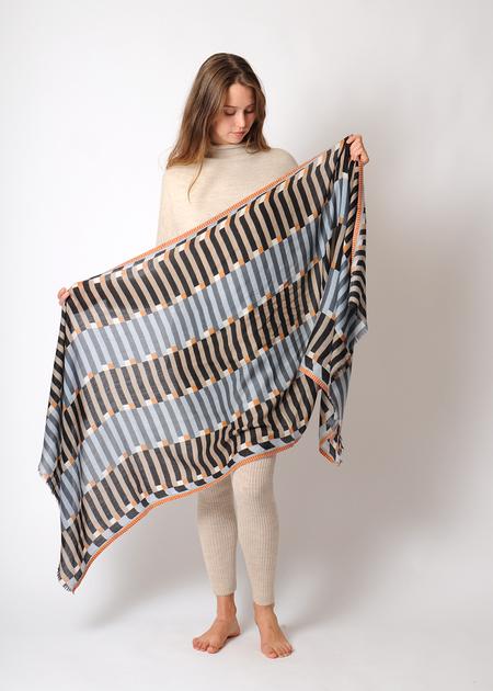 Epice Stripe Scarf GW1852 - Grey