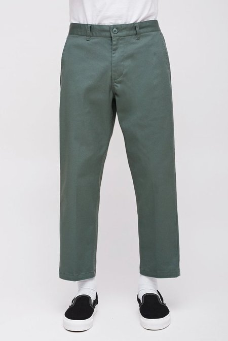 Obey Straggler Flooded Pants - Dusty Green