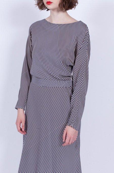 Yo Vintage! Silk Stripe Dress