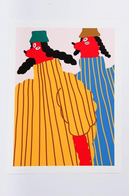 Kids Egle Zvirblyte Long Dogs Giclee Print