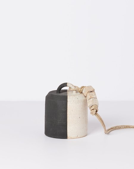 MQuan Studio Small Wide Thrown Bell - Black/White
