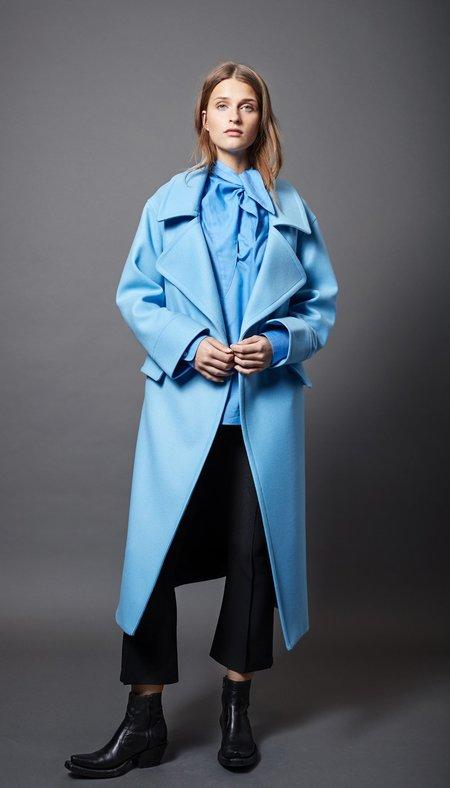 Smythe Blanket Coat - Topaz