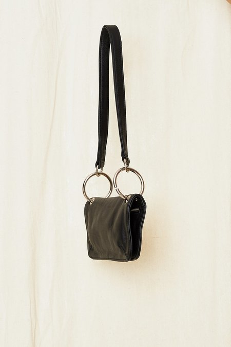 Clyde Leather Mindy Bag - black