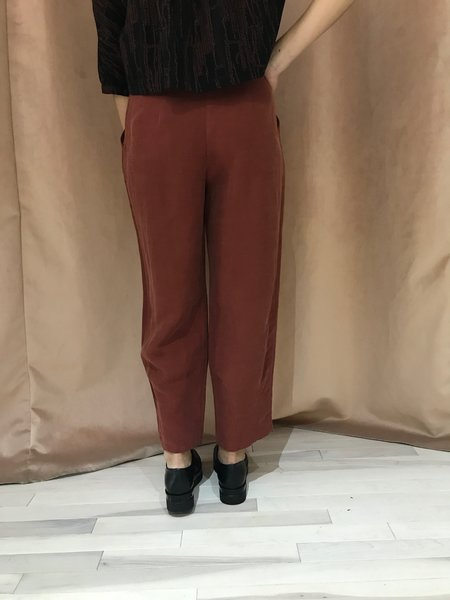 EVE GRAVEL LONELY CITY pant - BROWN