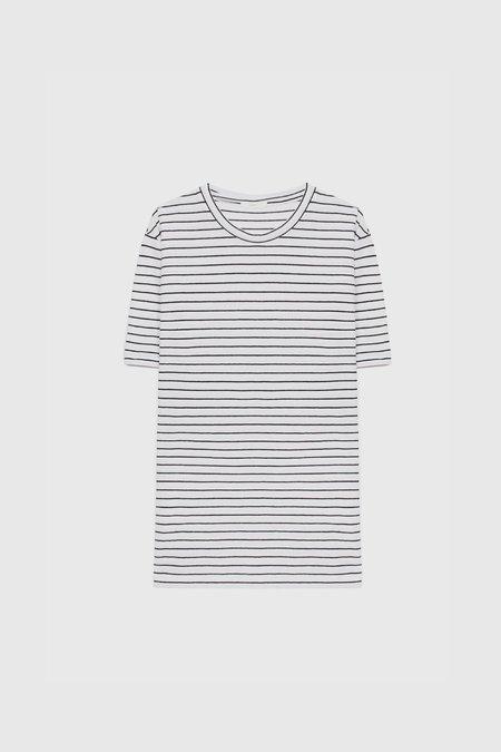 COMMONERS Linen Cotton Tee - Stripe
