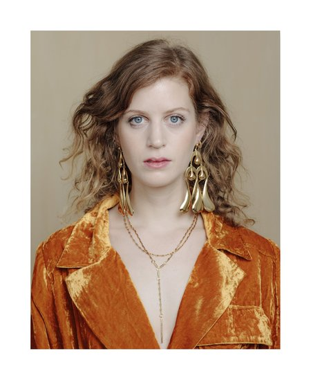 PAR ICI by Alynne Lavigne Big Drop Earrings