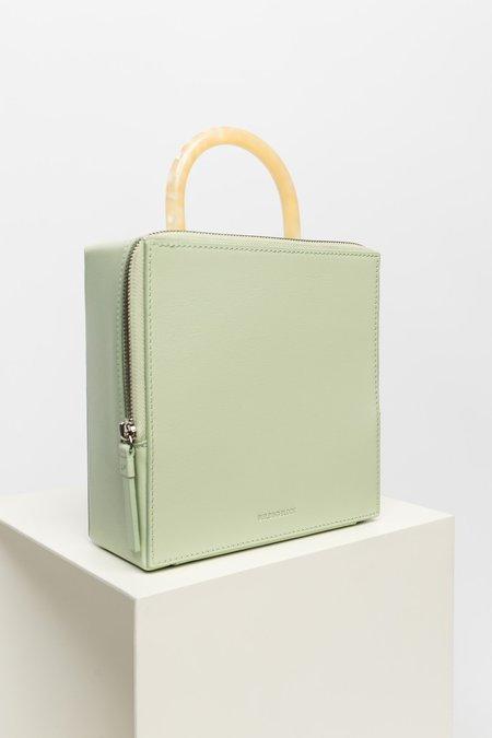 Building Block Box Bag - Celadon