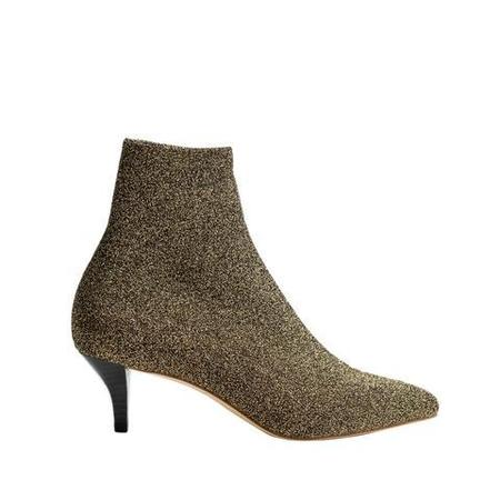LoversLand Tara Suede Knit Boot - Black