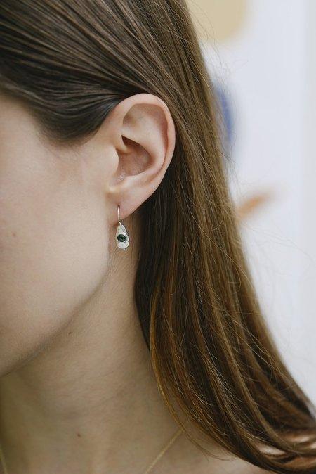 Seaworthy Betty Earrings - Silver/Malachite