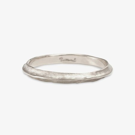 Satomi Kawakita Line Band - Sterling Silver