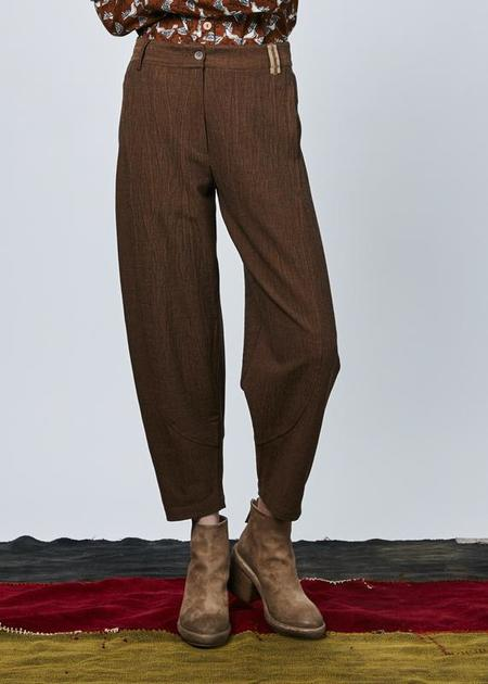 Echappees Belles Chico Cropped Trouser - copper