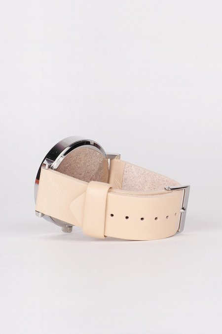 Unisex The Horse Original Watch - Polished Steel/White Face