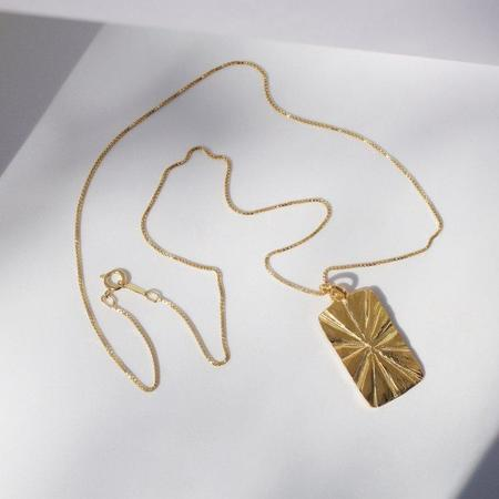 Eleventh House Golden Hour Necklace - Gold