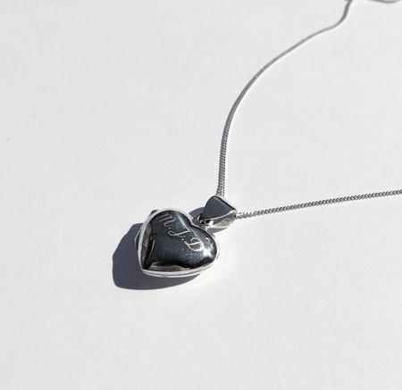 Eleventh House Heart Locket Necklace