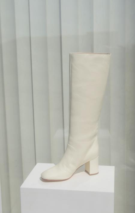 Maryam Nassir Zadeh Lune Boot - Cream
