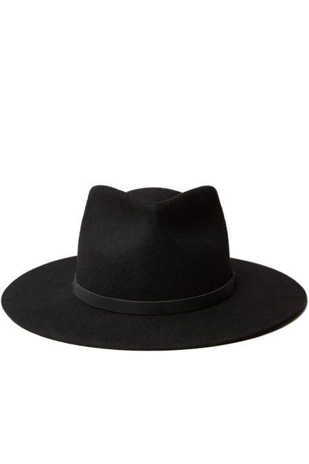 Yellow 108 Dylan Hat - Black