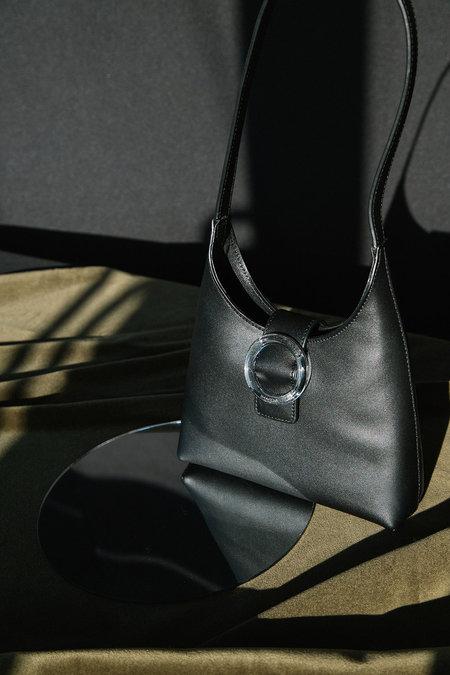 IMAGO-A Nº44 Lucite Buckle Mini - Noir