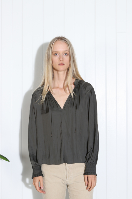 Ulla Johnson Eileen Blouse - Peat