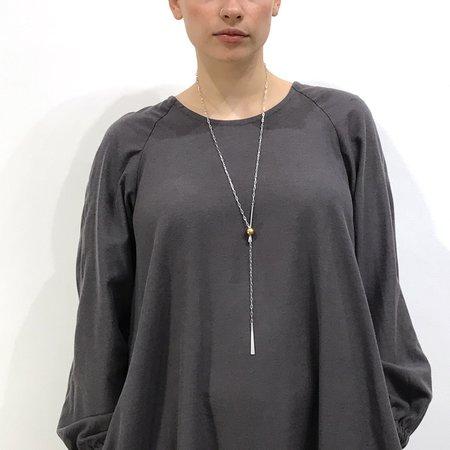 Devlyn Van Loon Flared Dress - Gray