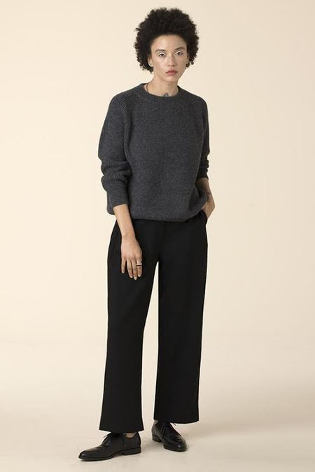 Ali Golden Straight Leg Pant - Black