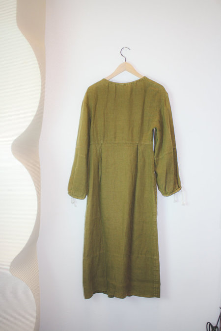Happy Haus Boheme Dress - Olive