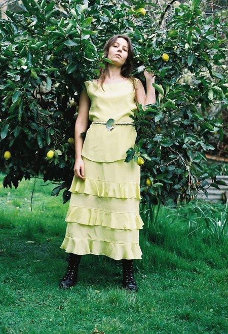 OVNA OVICH Bubushka Skirt - Acid Yellow