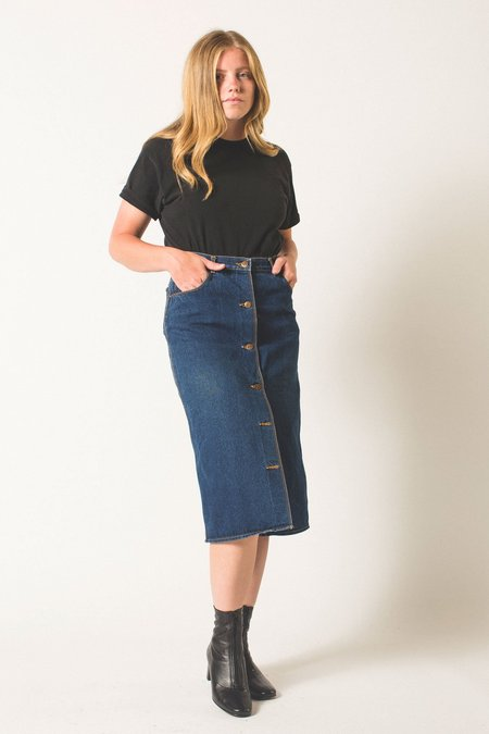Preservation Vintage Denim Skirt