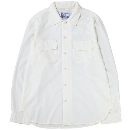 Garbstore Double Bluff Shirt - White