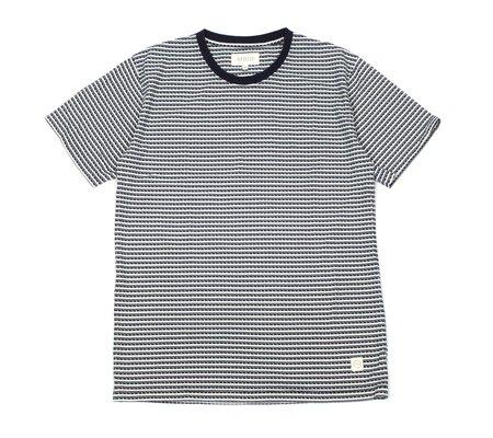 Far Afield Printed T-Shirt - Factory Stripe