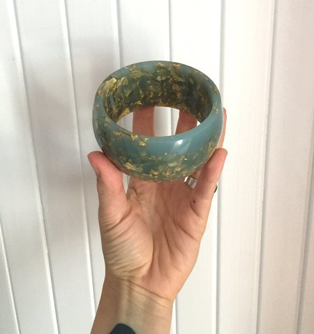 Practice Space Rosella Jewellery Eco Resin Large Bangle