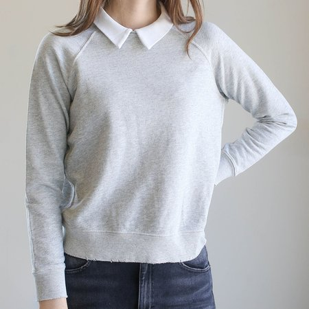 Amo Prep Sweatshirt - Heather Grey
