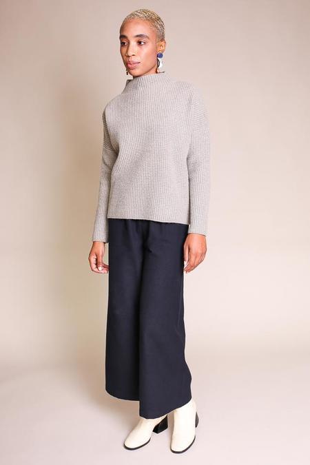 Evam Eva High Necked Pullover - Sage