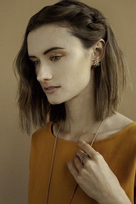 Lindsay Lewis Jewelry Split Earrings - BRASS