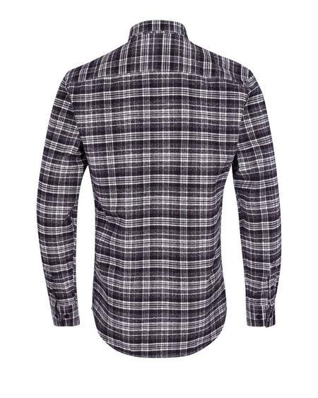 Minimum Walther 3273 Long Sleeve Shirt - Navy Blazer