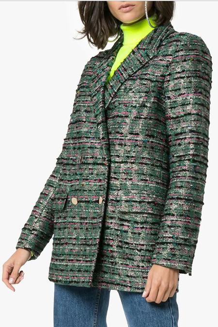 DESERT MANNEQUIN x N-DUO tweed blazer - Green