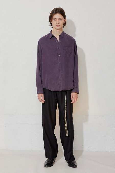 L'Homme Rouge Original Tencel Shirt - Nightshade