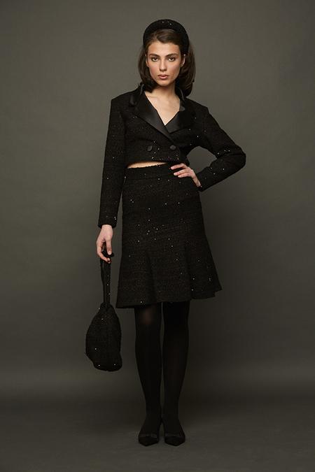 DESERT MANNEQUIN x N-DUO skirt - Black
