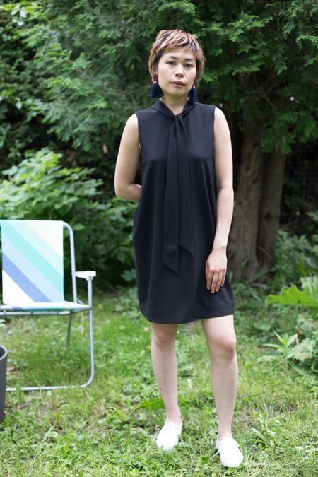Birds of North America Razorbill Dress - Black